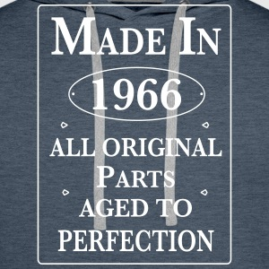 made in 1966 II birthday Pullover & Hoodies - Männer Premium Hoodie