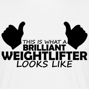 brilliant weightlifter T-Shirts - Men's T-Shirt