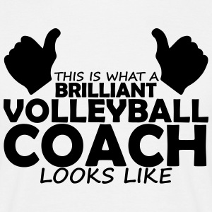 brilliant volleyball coach T-Shirts - Men's T-Shirt