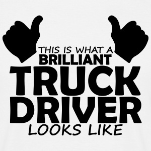 brilliant truck driver T-Shirts - Men's T-Shirt
