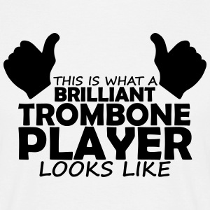 brilliant trombone player T-Shirts - Men's T-Shirt