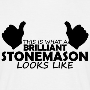 brilliant stonemason T-Shirts - Men's T-Shirt
