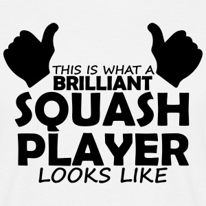 brilliant squash player T-Shirts - Men's T-Shirt