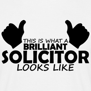 brilliant solicitor T-Shirts - Men's T-Shirt