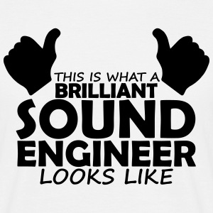 brilliant sound engineer T-Shirts - Men's T-Shirt