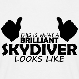 brilliant skydiver T-Shirts - Men's T-Shirt