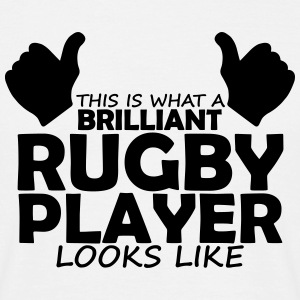 brilliant rugby player T-Shirts - Men's T-Shirt