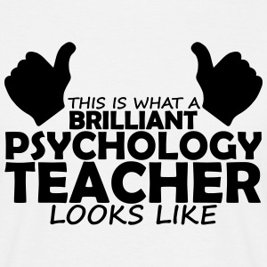 brilliant psychology teacher T-Shirts - Men's T-Shirt