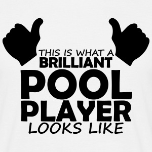 brilliant pool player T-Shirts - Men's T-Shirt