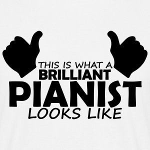 brilliant pianist T-Shirts - Men's T-Shirt