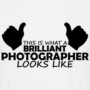 brilliant photographer T-Shirts - Men's T-Shirt
