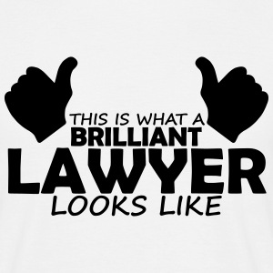 brilliant lawyer T-Shirts - Men's T-Shirt