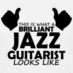 brilliant jazz guitarist T-Shirts - Men's T-Shirt