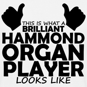 brilliant hammond organ player T-Shirts - Men's T-Shirt