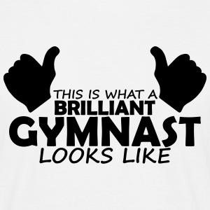 brilliant gymnast T-Shirts - Men's T-Shirt
