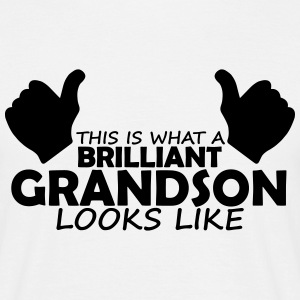 brilliant grandson T-Shirts - Men's T-Shirt