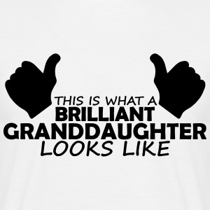 brilliant granddaughter T-Shirts - Men's T-Shirt