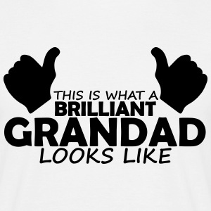 brilliant grandad T-Shirts - Men's T-Shirt