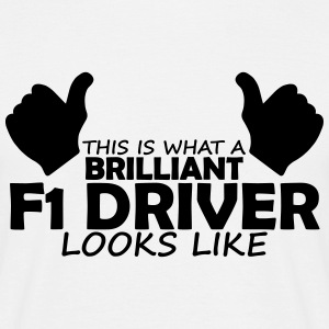 brilliant f1 driver T-Shirts - Men's T-Shirt