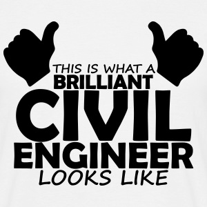 brilliant civil engineer T-Shirts - Men's T-Shirt