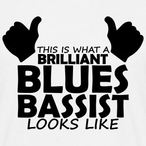 brilliant blues bassist T-Shirts - Men's T-Shirt