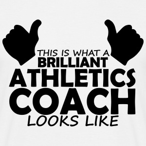 brilliant athletics coach T-Shirts - Men's T-Shirt