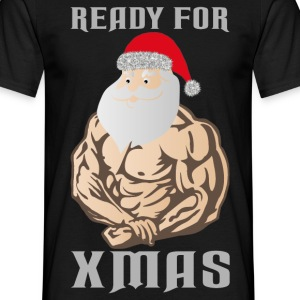 ready for xmas white T-Shirts - Mannen T-shirt