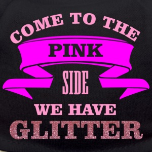 Come to the pink side - we have glitter Peluche - Orsetto