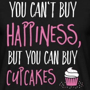 Cant buy happiness, but cupcakes T-Shirts - Men's T-Shirt