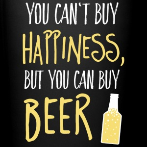 Cant buy happiness, but beer Tassen & Zubehör - Tasse einfarbig