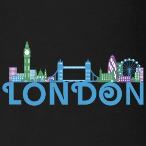 Skyline London Babybody - Ekologisk kortärmad babybody