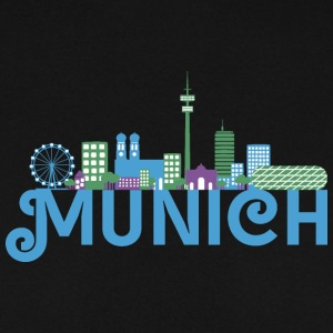 Skyline de Munich Sweat-shirts - Sweat-shirt Homme