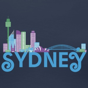 Skyline of Sydney T-Shirts - Women's Premium T-Shirt