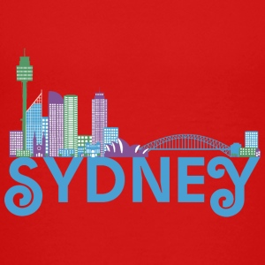 Skyline of Sydney Shirts - Kids' Premium T-Shirt