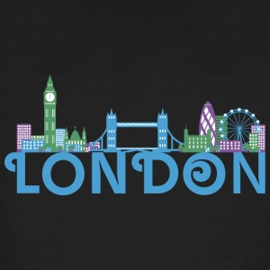 Skyline of London T-Shirts - Men's Organic T-shirt