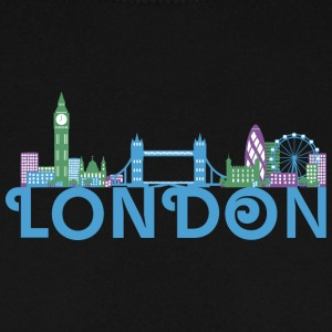 Skyline de Londres Sweat-shirts - Sweat-shirt Homme