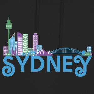 Skyline de Sydney Sweat-shirts - Sweat-shirt à capuche unisexe