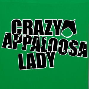 Crazy Appaloosa Lady Bags & Backpacks - Tote Bag