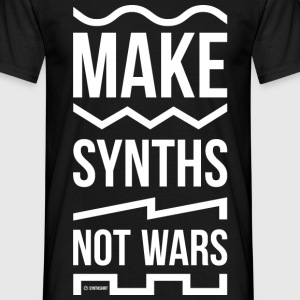 Make Synths Not Wars - Men's T-Shirt