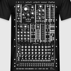 Modular Synth Doublesided - Men's T-Shirt