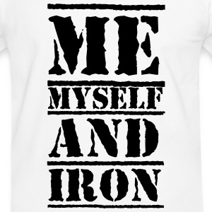 Iron Tee shirts - T-shirt contraste Homme