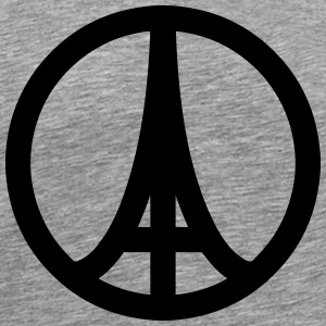 Paris in Peace T-Shirts - Men's Premium T-Shirt