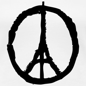 Paris Peace T-Shirts - Frauen Premium T-Shirt