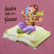 Diseño ~ books take you places