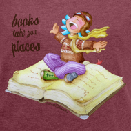 Diseño ~ BOOKS CAN TAKE YOU PLACES