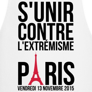 United against extremism Paris 13 November 2015  Aprons - Cooking Apron