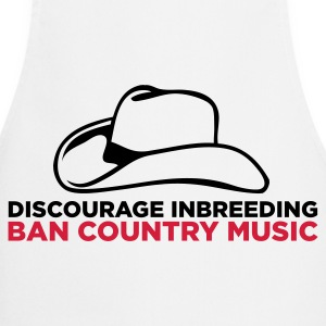 Please stopt incest! Prohibits Country Music!  Aprons - Cooking Apron