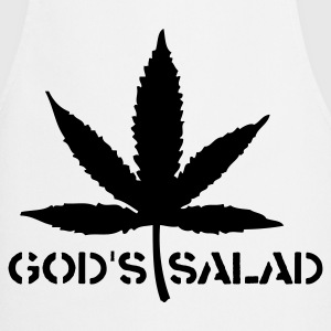 Gods salad  Aprons - Cooking Apron
