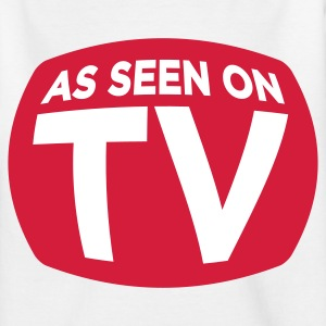Ligesom på TV! T-shirts - Teenager-T-shirt