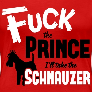 Dog shirt: I'll take the Schnauzer Tee shirts - T-shirt Premium Femme